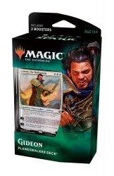 Magic the Gathering War of the Spark Planeswalker Gideon Deck